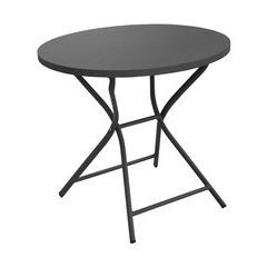 Table pliante WIN ronde 80 Grey