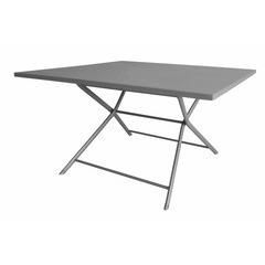 Table pliante WIN 130x130 Taupe