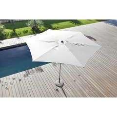 Parasol easy up 330 plat Blanc