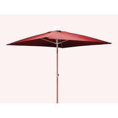 Parasol Fibre verre 2x2 Rouge
