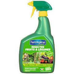Insecticide fruits & légumes 'Fertiligène' : Prêt à l'emploi 800ml