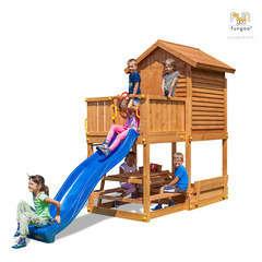 Air de jeux FUNGO MYHOUSE FREE TIME BRACH L 440.0 l 165.0 H 285.0 cm