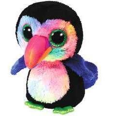 Beanie Boo's Small - Beaks l'Oiseau - 15 cm