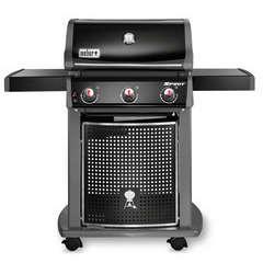 Barbecue gaz Spirit Classic E-310 noir L 132 x l 82 x H 160 cm