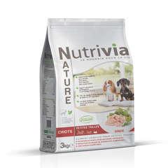 Nutrivia Nature Aliments complets pour chiot (petite race): Dinde,3kg