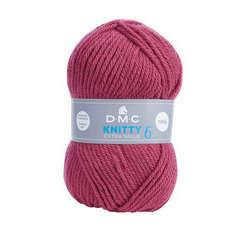 Pelote de laine DMC Knitty 6, 137m environ - Coloris 846