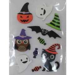 Stickers 3D (x10) - Halloween