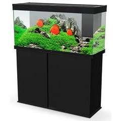 Aquarium avec meuble Emotion Nature Pro 120 noir - 233 litres