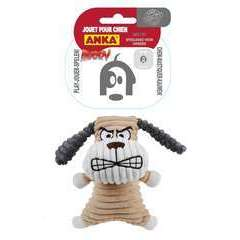 Jouet peluche Chien angry, pour chien: taille S (16,5cm)