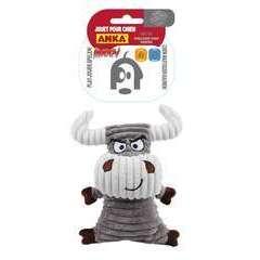 Jouet peluche Taureau angry, pour chien: taille M/L (20,5cm)