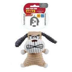 Jouet peluche Chien angry, pour chien: taille M/L (20,5cm)