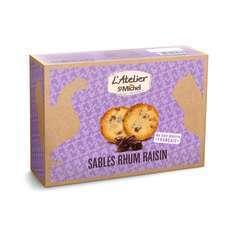 Sablés rhum raisins: 275g