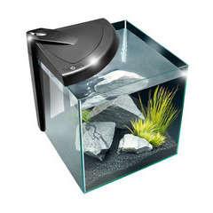 Aquarium Newa More, noir - 20 litres