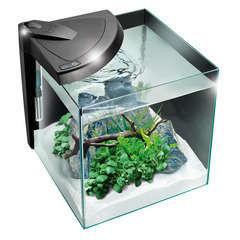 Aquarium Newa More poisson d'eau douce, noir - 30 litres