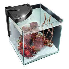 Aquarium Newa More poisson d'eau de mer, noir - 30 litres