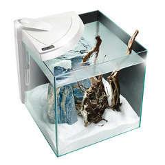 Aquarium Newa More, pour poissons eau douce: Blanc, 28L