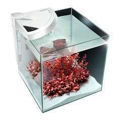 Aquarium Newa More, pour poissons eau douce: Blanc, 45L