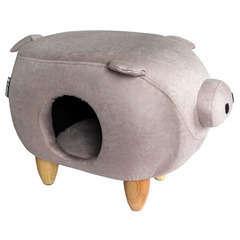 Pig pink assise et couchage pour chat 50 x 35 cm