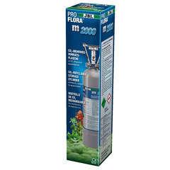 Bouteille rechargeable 2 kg de CO2 JBL ProFlora m2000 SILVER