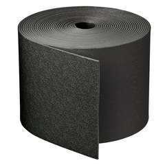 Bordure PE recyclé, coloris noir, rouleau longueur 10m et hauteur 15cm