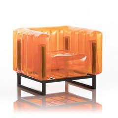 Fauteuil yomi orange