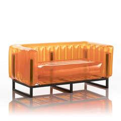 Canapé yomi orange