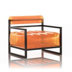 Fauteuil yoko orange