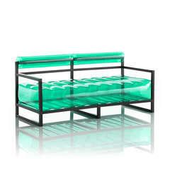 Canapé yoko vert