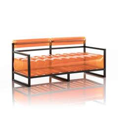 Canapé yoko orange