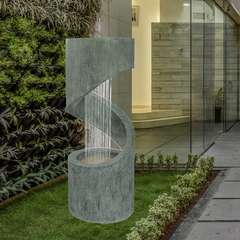Grande Fontaine Circo avec Eclairage Led pour Jardin ou Terrasse