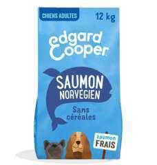 Croquettes Grands Chiens Adultes Sans Céréales  Saumon frais 12kg