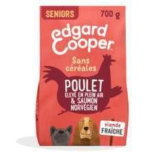 Croquettes Chiens Seniors Sans Céréales  Poulet&Saumon frais 700g