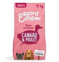 Croquettes Grands Chiots Sans Céréales  Canard&Poulet frais 12kg