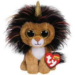 Beanie Boo's Small - Ramsey le Lion Licorne 15cm