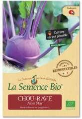 Graines potagères Chou Rave Azur Star Bio 0,35g
