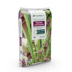 Terreau pour plantes carnivores - sac de 5 litres