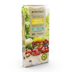 Terreau pour plants de légumes et petits fruits - sac de 50 litres