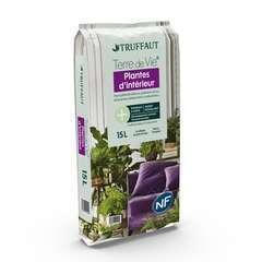 Terreau 'Terre de Vie®' pour plantes d'intérieur - sac de 15 litres