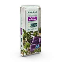 Terreau 'Terre de Vie®' pour plantes d'intérieur - sac de 40 litres