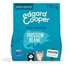 Croquettes Chat Adulte  Poisson Blanc 1,75kg