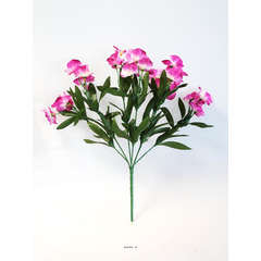 Bouquet d'Orchidées artificielles 21 fleurs hauteur 33 cm superbe