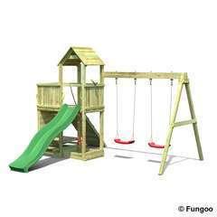 Station de jeux FUNGOO FLOPPI balançoire L 373.0 l 396.0 H 272.0 cm