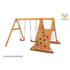 Station de jeux FUNGOO SPIDER KING balançoire L364.0 l252.0 H210.0 cm