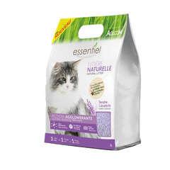 Litière végétale pour chat Essentiel Soja Lavande - 6 litres