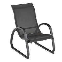 Fauteuil lounge EASY anthracite/anthracite