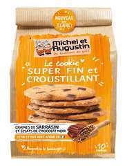 Le Cookie plein de finesse Chocolat noir Sarrasin 140g