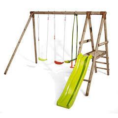 Station jeux enfant NOPAL H235cm  plateforme 90 cm toboggan