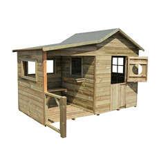 Maisonnette pour enfant en bois HACIENDA PREAU L152,5xl122xH64,5 cm