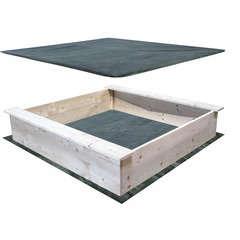 Bac à sable en bois 118x118cm
