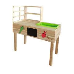 Table à rempoter avec bac, bois